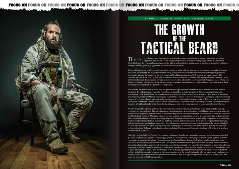 25fcde5192b The Growth of the Tactical Beard